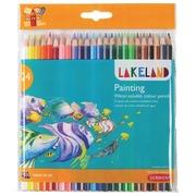 Lakeland crayon aquarellable, pak van 24 stuks in geassorteerde kleuren