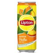 De_crt 24 can lipton ice tea peche 33 cl