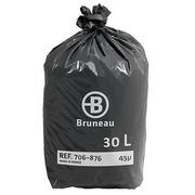 Sac poubelle 30 litres Bruneau - Colis de 200