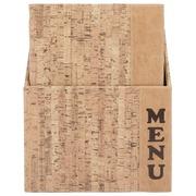 Securit protège-menu Design, ft A4, Cork, boîte de 10 pièces