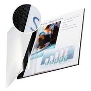 EN_Tapa de encuadernacion channel flexible 35541 negra lomo aa capacidad 10/35 hojas
