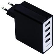 Chargeur Hama USB Auto-Detect avec 4 ports