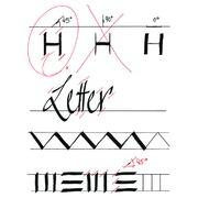 Feutre-Calligraphe edding 1255 5,0mm noir