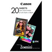 Photo paper zinc Canon ZP-2030 - box of 20 sheets