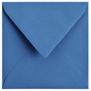 Enveloppe 140x140mm bleu roi