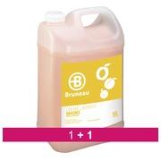 Pack 1 + 1 Crème lavante Bruneau abricot - Bidon de 5 litres