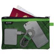 Leitz WOW Pochette, L, 2 compartiments, vert