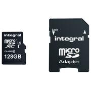 Carte mémoire UltimaPro micro SDHC 128 Go avec adaptateur SDHC - classe 10