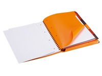 Spiral notebook Oxford Organizerbook A4+ 24 x 32 cm - lined 160 pages