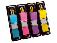 4 Verteiler von 35 Lesezeichen Post-it Breite 12,7 mm - helle Farben
