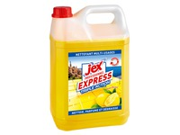 Can of 5 ultra degreasing cleaning product Jex Express lemon