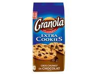 Gâteaux Granola cookies Lu aux pépites de chocolat - Paquet de 184 g
