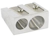 Pensil sharpener Budget double aluminium