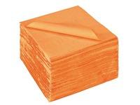 Pak 150 servietten in watten 39x39 cm oranje