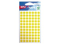 Sachet 462 dots D 8 mm yellow