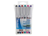 Pilot V-pen, sleeve of 6, assorted colours