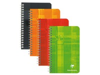 Carnet spirale Clairefontaine Metric 11 x 17 petits carreaux 100 pages