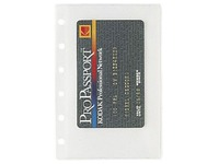 Refill sleeves for visit cards for Exatime 14 (ref Exatime 14208E)