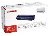 Cartridge laser zwart Canon EP27