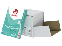 Recycled paper A4 white 80 g Bruneau Reprospeed Green Plus - Box of 2500 sheets