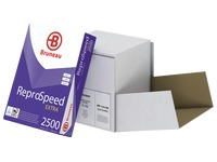 Box of satinized paper Bruneau Reprospeed Extra A4 80 g - 2500 sheets - white