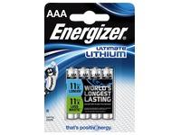 Blisterpackung 4 Lithium-Batterien LR03.