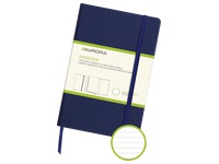 Notizbuch 140 x 215 mm liniert - 192 Seiten - Blau