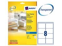 Pak 200 adresetiketten Avery J 8565 99,1 x 67,7 mm voor inkjetprinter