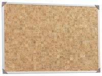 Mini picture cork 60x45cm, aluminium frame