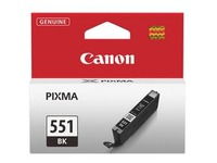 Cartridge Canon CLI551 zwart