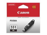 Cartridge Canon CLI-551 BK zwart