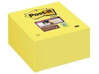 Bloc cube repositionnable Super Sticky Post-it 76 x 76 - bloc de 350 feuilles