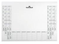 Recharge de 25 feuilles calendrier pour sous-main Durable 57 x 41 cm