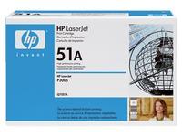 Toner zwart HP Q7551A - HP 51A
