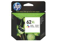 Cartridge HP 62XL hoge capaciteit kleuren voor inkjetprinter