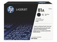 Toner HP 81A zwart voor laserprinter