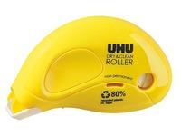 Roller met herplaatsbare lijm dry & clean UHU