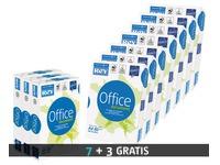 Pack 7 + 3 papierriemen Rey Office A4 80 g extra wit