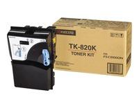 TK820K KYOCERA FSC8100DN TONER BLACK