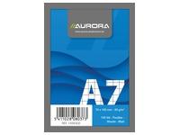 Notablok Aurora A7 75 x 105 mm gelijnd 100 vellen