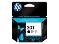 HP 301 - zwart - origineel - inktcartridge