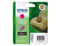 Epson T0343 - magenta - origineel - inktcartridge (C13T03434010)