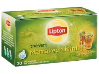 Package 20 tea bags Lipton Marrakech Mint Tea
