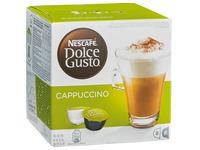 Schachtel mit 16 Kaffeekapseln Nescafé Dolce Gusto Cappuccino