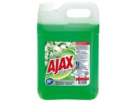 Bottle of 5 L Ajax fragrant cleaning