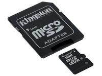Kingston - flash memory card - 8 GB - microSDHC