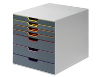 Classifying module Durable Varicolor 7 drawers in grey