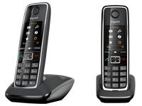 Pack Duo Telefoon met antwoordapparaat Siemens Gigaset C530A - zwart