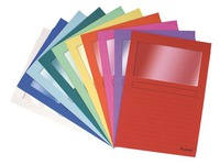 Dossiermapjes met venster FOREVER A4 papier 130 g kleur - Doos van 100