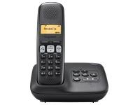 Telefoon met antwoordapparaat Siemens Gigaset A250A - zwart